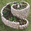 Gabionen in Form - Drahtgitterkörbe als Kräuterschnecken, Säulen, Wasserfaß, Poolumrandung & Hochbeet
