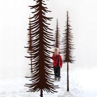 Rost Baum Tanne lang, schmal 1600 mm