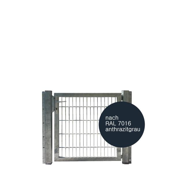IGT - Industriegittertür RAL 7016 anthrazit 1-flügelig