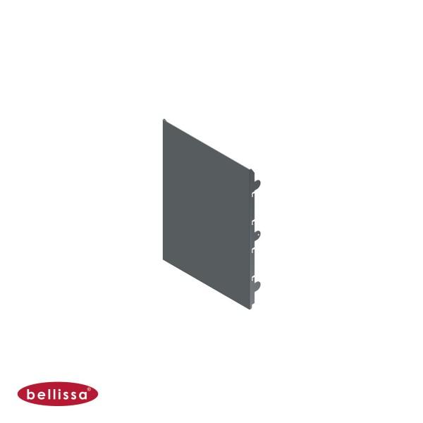 Corten Stahl 360x500 mm Ansicht vorne
