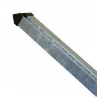 Zaunpfosten Arte-Classic Höhe 1300 mm verzinkt