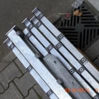Pfosten 1230 mm HS verzinkt - Gebrauchsspuren