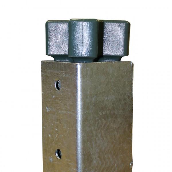Bodenhülse verzinkt aus Metall