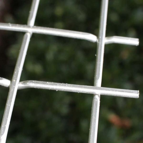 Stanzgitter, Pressgitter aus blankem Stahl