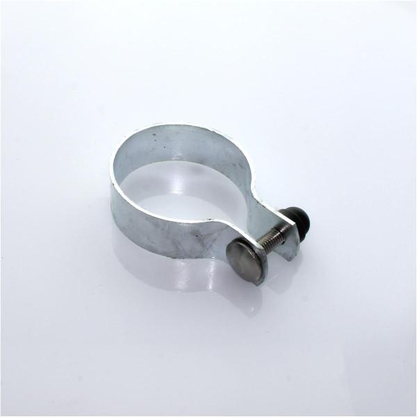 Schelle Ø 060 mm verzinkt - 1,5 mm cpl. mit Zubehör