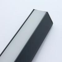 Beleuchtungsprofil iLuxo 1830 mm 5er Set Aluminium anthrazit