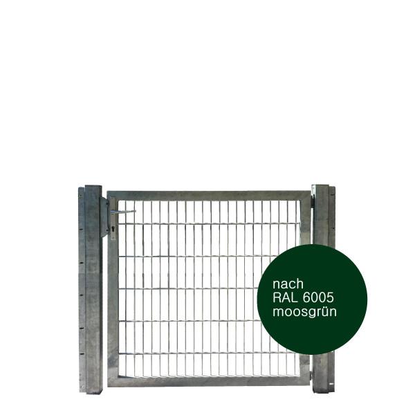 Gartentor 125 x 120 cm Industriequalität in grün