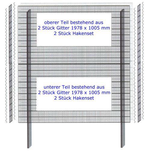 Mauersystem Paravento Gabionenwand 2000