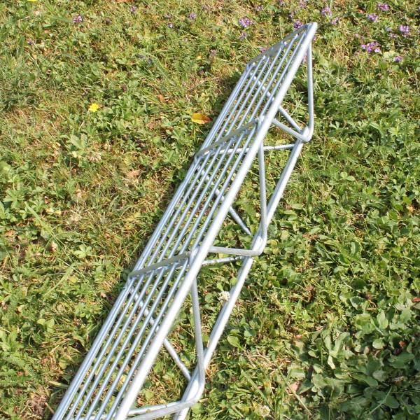 Wandsäule 160 mm für Steinzaun 1,6 Meter verzinkt