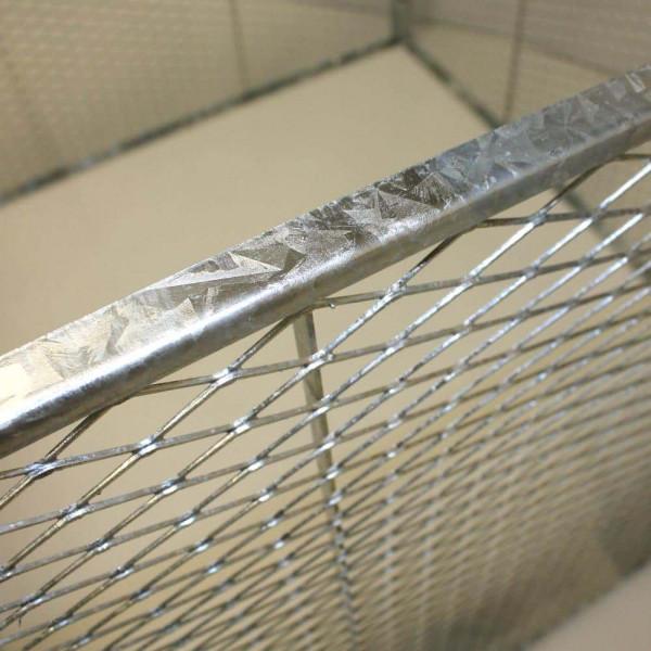 Streckmetall mit umlaufen Rahmen