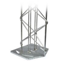 Wandsystem 230 mm Pergone® Wandsäule 1000 mm Bodenplatte Mitte