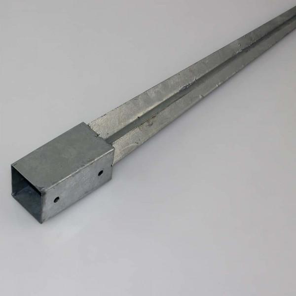 Holzpfosten Bodenhülse 91x91x750 mm