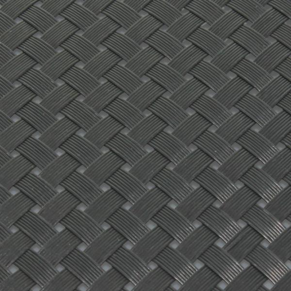 Sichtschutz Flechtmuster anthrazit 190 x 2560 mm