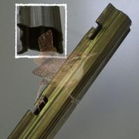 Forstprofil 2500 mm verzinkt