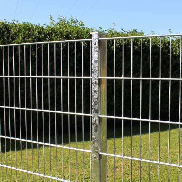 Mattenzaun verzinkt 1,40 Meter hoch günstiger Setpreis