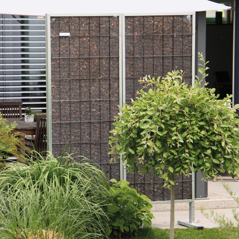 sichtschutz diviso sichtschutzzaun z une drahtwaren driller gmbh. Black Bedroom Furniture Sets. Home Design Ideas