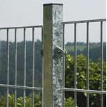 DINO Plus Zaunpfosten für Gitterhöhe 2030mm Mitte, verzinkt