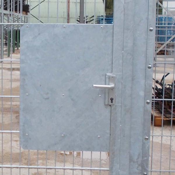 Durchgreifschutz 450 x 900 mm anschraubbar. Durchgreifblech