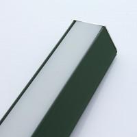 Beleuchtungsprofil iLuxo 1030 mm 2er Set Aluminium grün