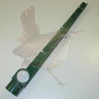 Stacheldrahtabweiser für Ø 042 mm Typ III grün