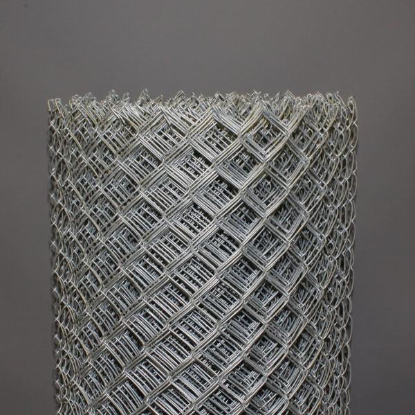 Maschendrahtzaun verzinkt 1000 mm, Masche 60x2,2 mm