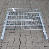 Zaungabione 0800 x 1100 x 165 mm mit Haltepfosten - leicht beschädigt