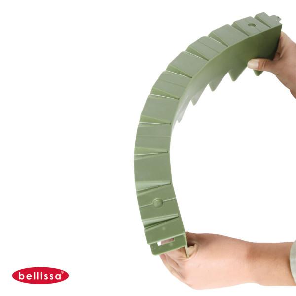Rasenkante comfort befahrbar Kunststoff flexibel mit Rand