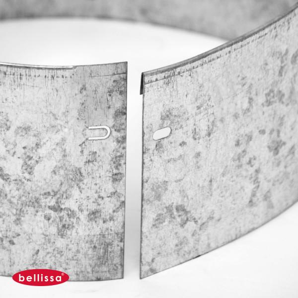 Rasenkante Ring Kreis Metall 20 cm