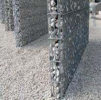 Steinzaun 1 Meter Anbauelement 100 mm