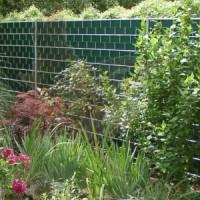 Sichtschutz 1830x2500 mm Gitter in verzinkt
