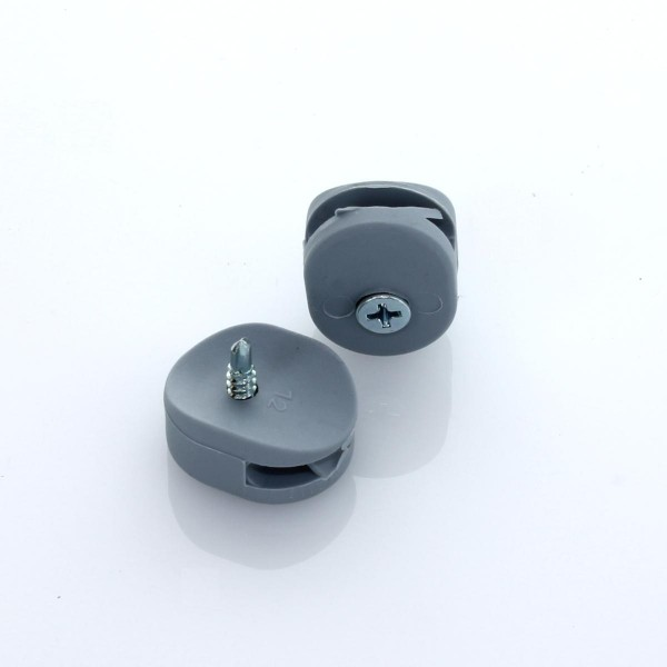 Spanndrahthalter DR25 grau + Schraube