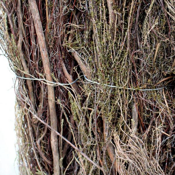 ausgefallenen Gartenzäune als Sichtschutz aus Heidekraut