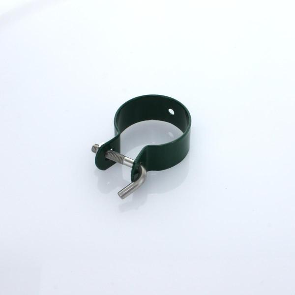 Schelle Maschendraht 42 gruen Topcolor Hakenschraube