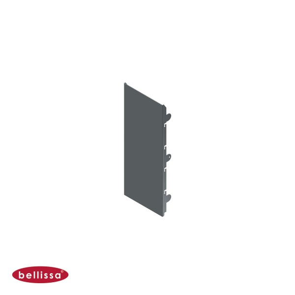 Corten Stahl 200x500 mm Ansicht vorne