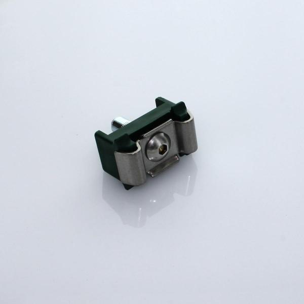 Gittermattenhalter Set Typ MS gruen 40mm