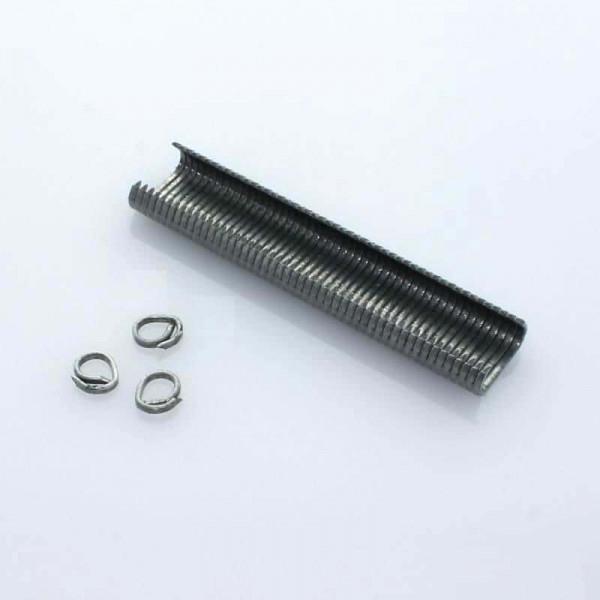 OK 20 C-Drahtösenklammern 1000 Stück - Aluminium