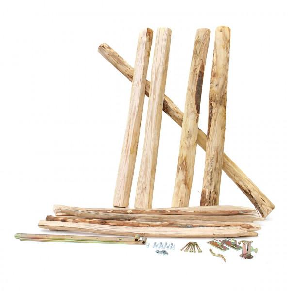 Staketenzaun Toranlage Classic für Holzzaun