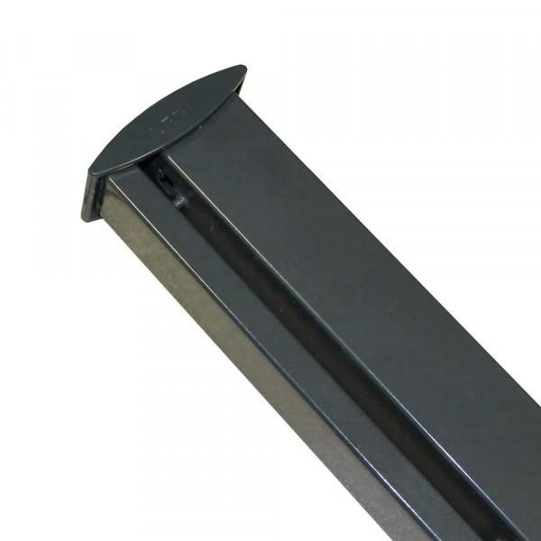 LEGI Pfosten 200 cm RP-Fit verzinkt und anthrazit beschichtet