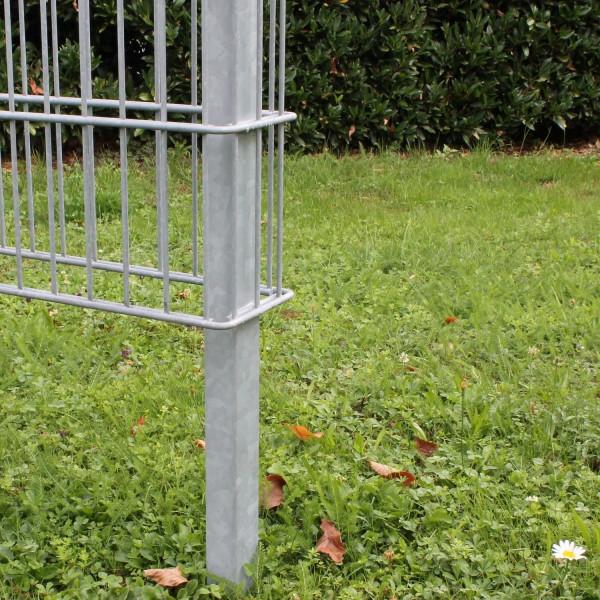 Haltepfosten in der RANKO® Zaun Gabione
