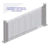 Columella Mauer 1360 x 1005 x 120 mm Grundelement
