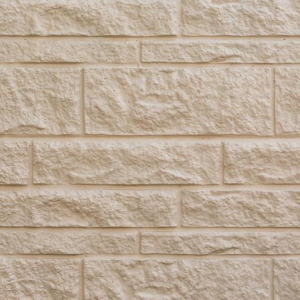Betonzaun Standard L - Fels Platte