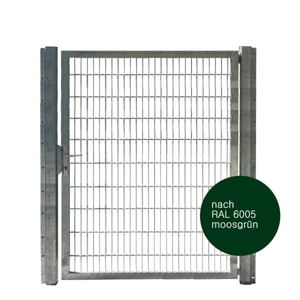 Gartentor 150 x 200 cm Industriequalität in grün
