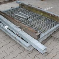Toranlage 3500 x 2000 mm IGT verzinkt 2-flgl
