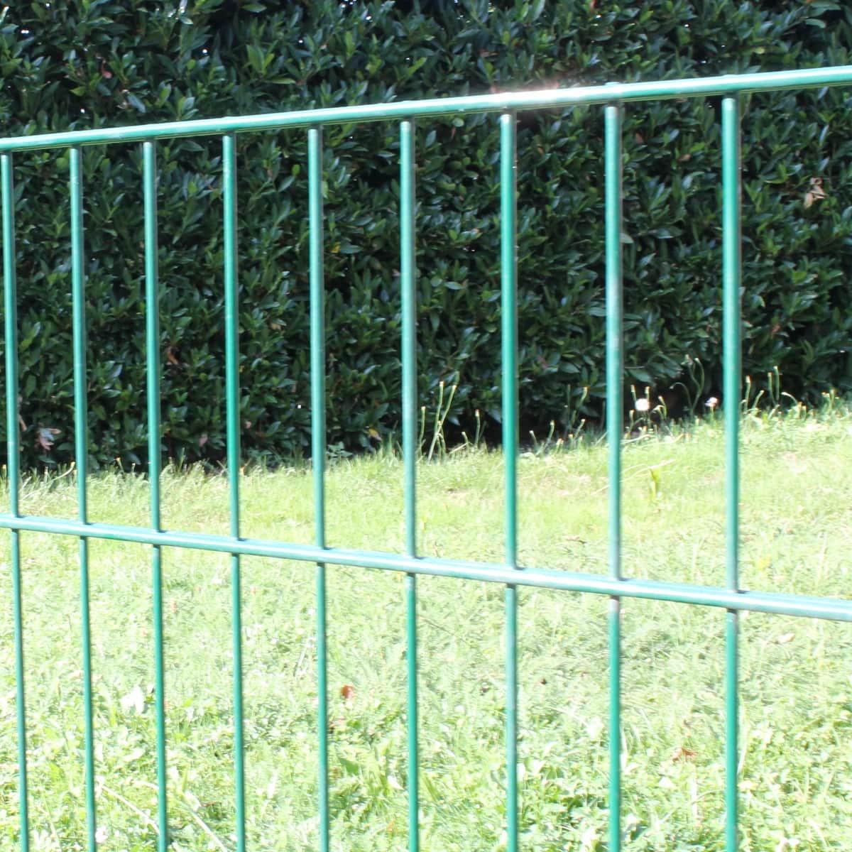 Gitterzaun RAL6005 Einzelteile