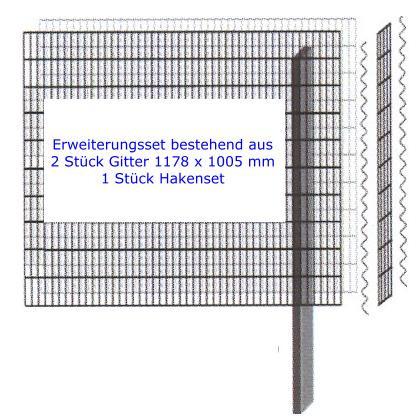 Mauersystem Paravento Gabionenwand 1178x1005