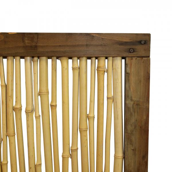 bambus zaun sichtschutz