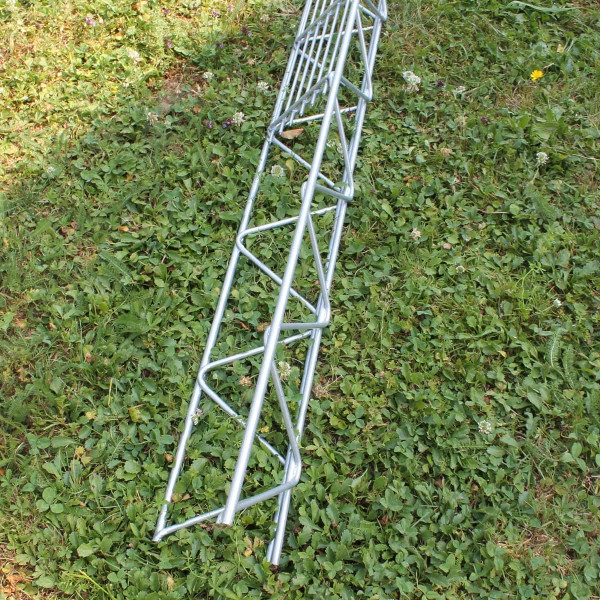 Säule zum einbetonieren für Steinzaun 1,6 Meter