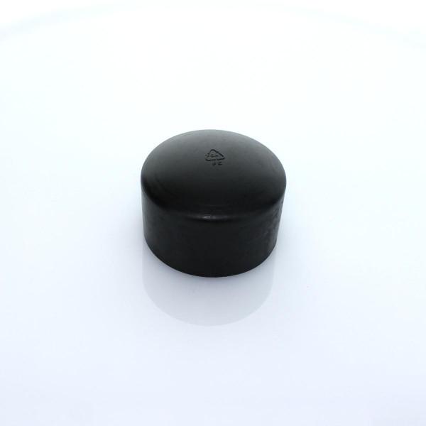 Abdeckkappe schwarz 60 PVC