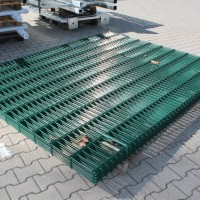 Doppelstabmatten 2030 mm grün 20 lfm - B-Ware