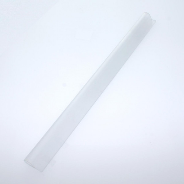 Klemmschienen für Sichtschutzstreifen 190 mm transparent